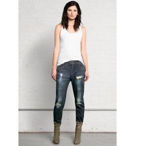 Rag and Bone Sheffield Sweatpant Jeans denim